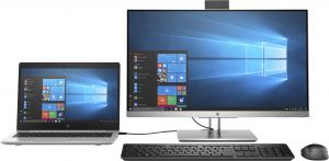 "HP EliteDisplay E243d 60,5 cm (23.8"") 1920 x 1080 Pixeles Full HD LED Gris, Plata"